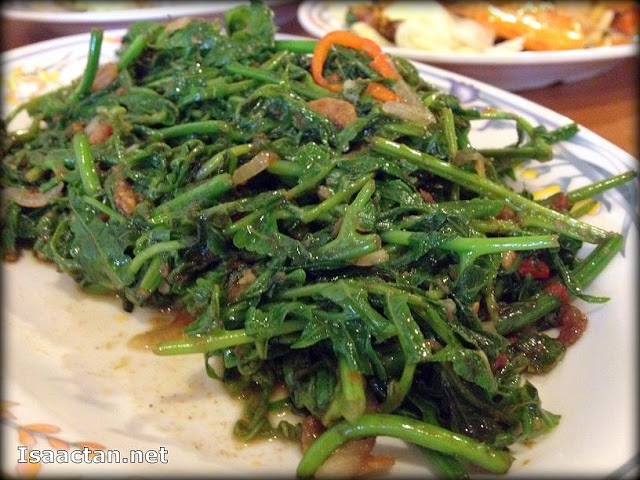 Stir fried Belacan Paku Vegetables - RM10