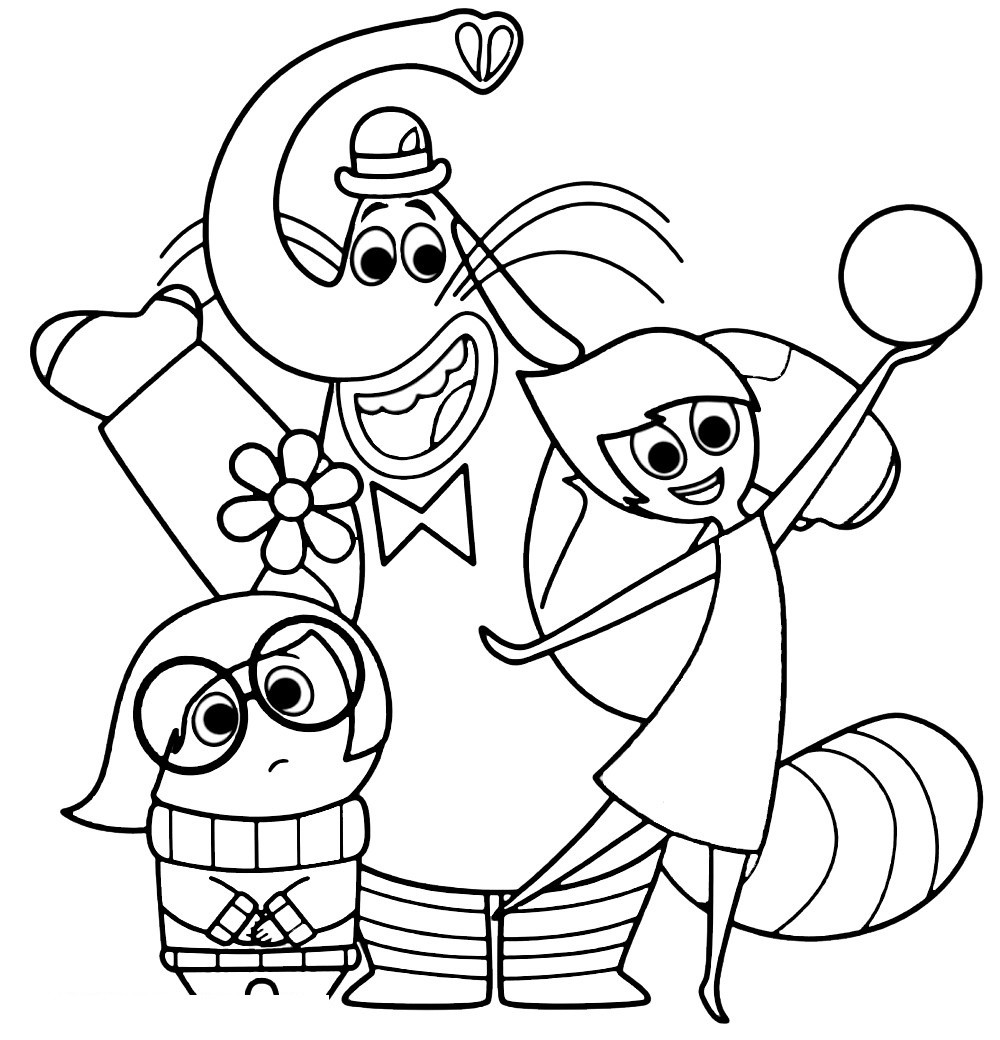 Colouring Pages For Inside Out : Coloring pages april