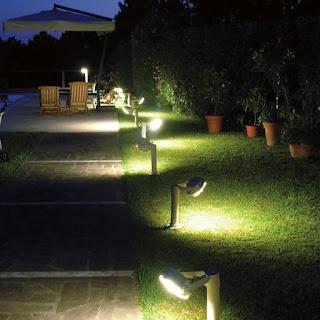 Lampadine che si accendono la notte a basso consumo