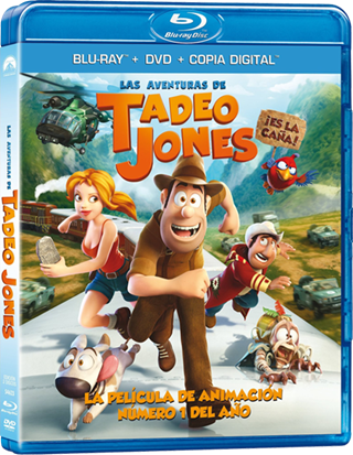 Las Aventuras de Tadeo Jones 720p HD Español Latino Dual