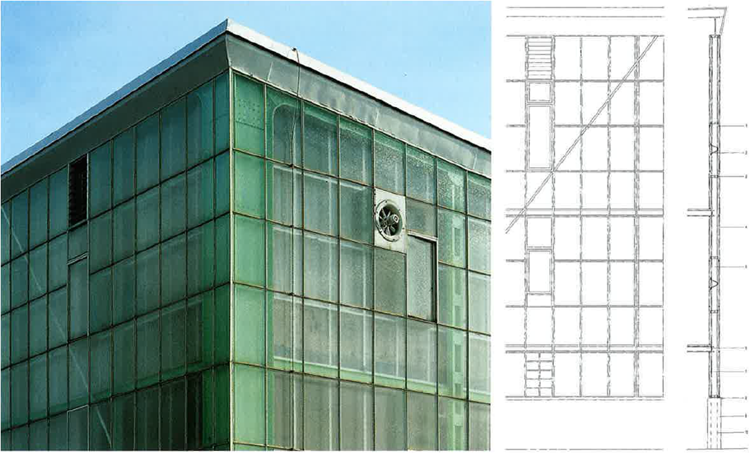 Curtain Wall Elevation : Façades confidential the steiff factory and birth of