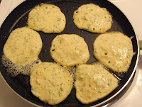 frying salt cod fritters