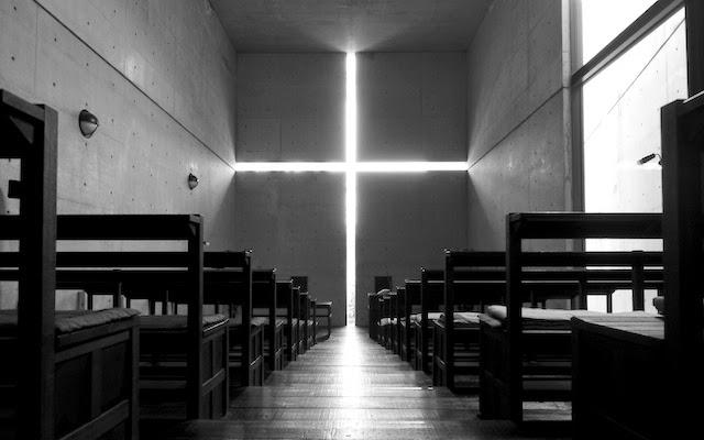 光の教会、礼拝堂