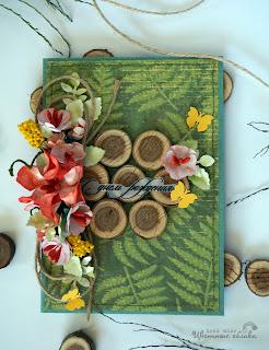 открытки ручной работы с природными материалами