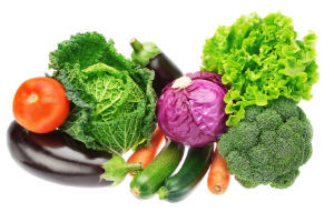 Assortment of different vegetables