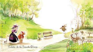 Fonds d'écran avril 2012 - Editions Des ronds dans l'O