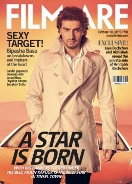 Arjun Kapoor :Arjun Kapoor on Filmfare Cover