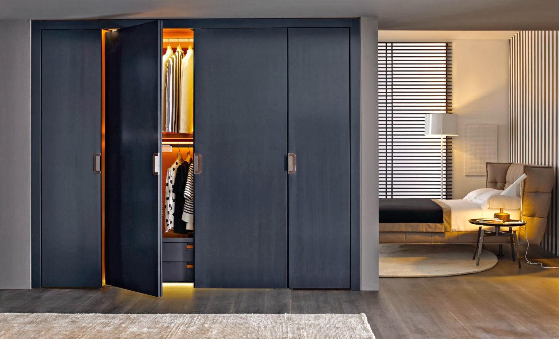 Marzua un armario perfecto para el dormitorio - Puertas escamoteables ...