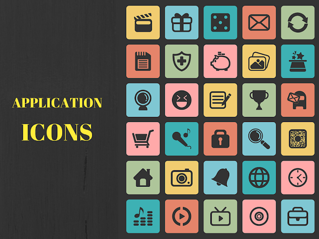 High Quality Premium Application Icons for Web & Mobile For Free Download: Freebies