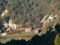 La Vall des del Camí de Sant Julià Sassorba