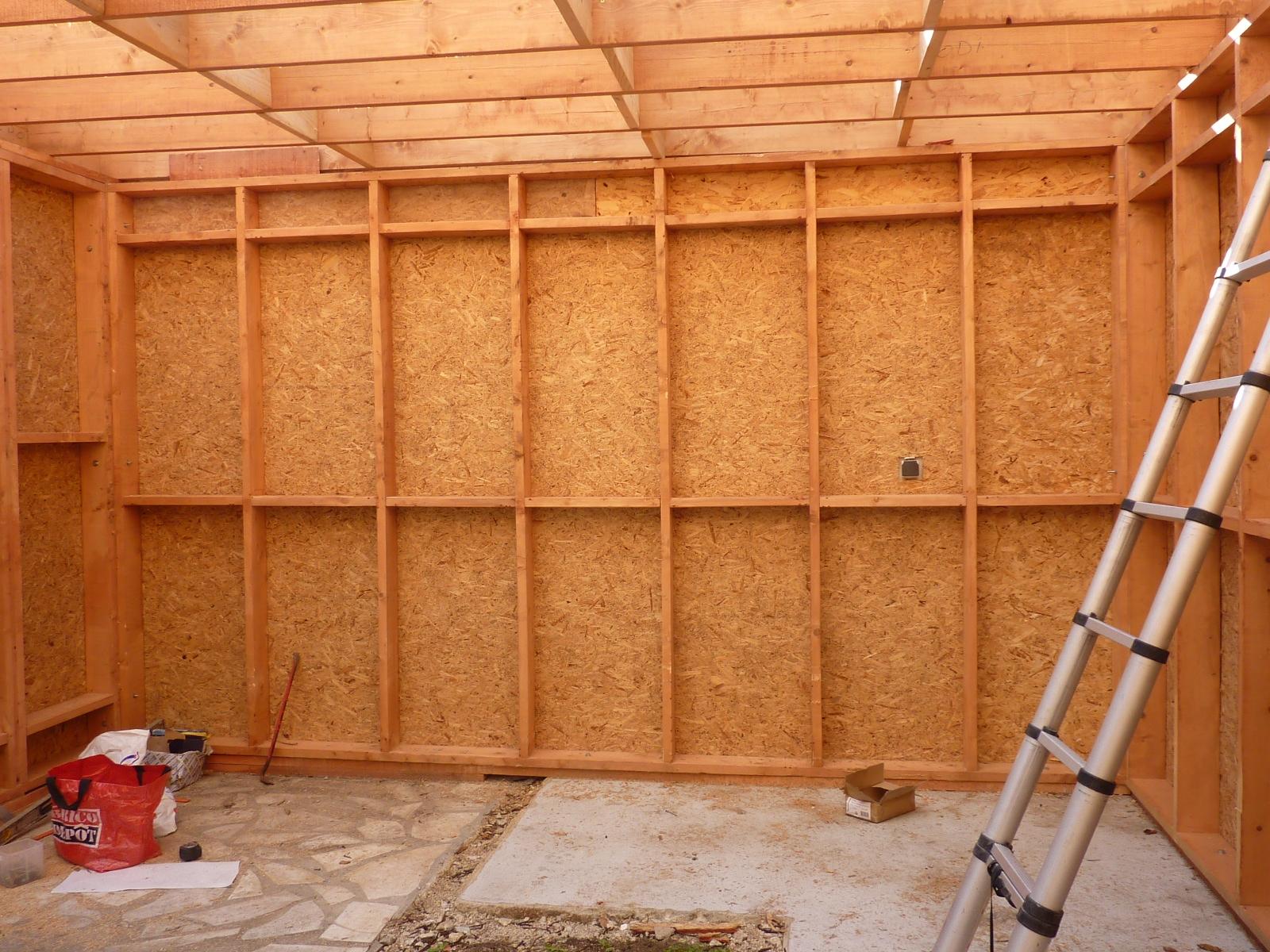 Interieur maison de bois en ossature bois verneuil seine - Interieur maison en bois ...