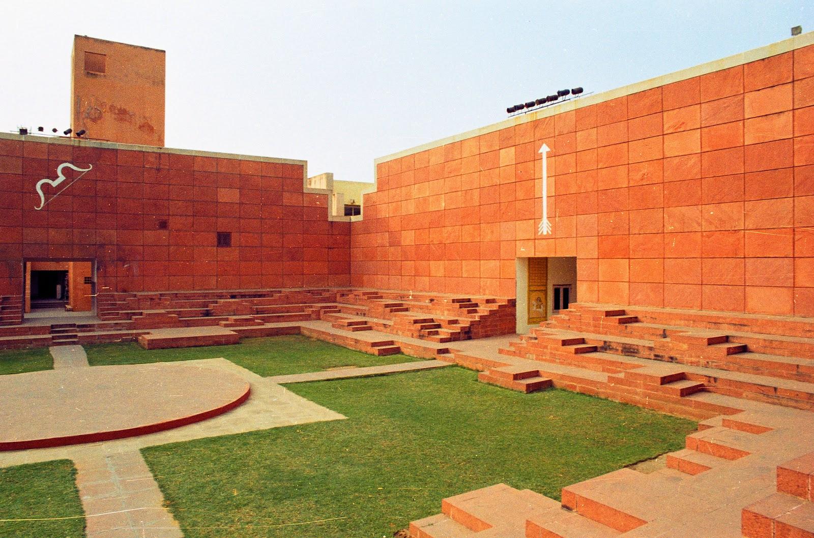 Hidden Architecture Jawahar Kala Kendra