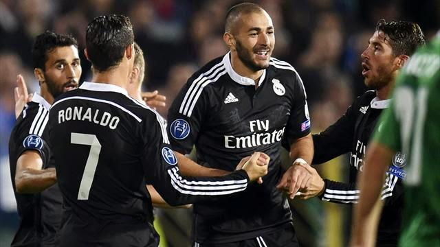 ملخص مباراة ريال مدريد ولودوجوريتس