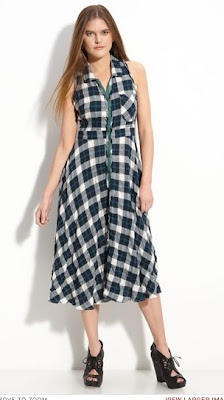Free People 'Rough & Tumble' Plaid Dress