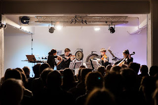 Ligeti Quartet at New Dots - photo Cathy Pyle