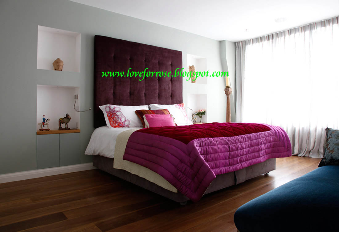 Fashion Life Style Luxury Pink And Gold Bedroom Design