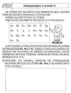 Atividades Infantil de Gramática para 3° Ano