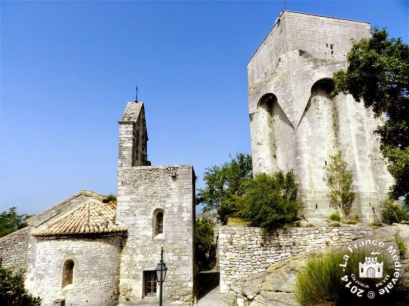 CLANSAYES (26) - Donjon et chapelle romane