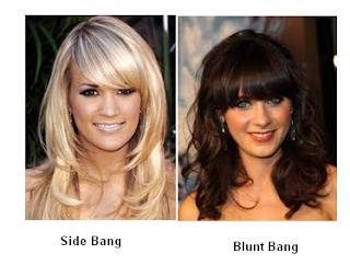 Changing your hair bangs/fringe