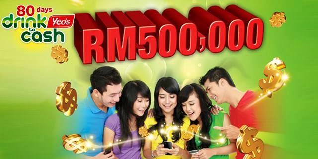 Yeo s 80 Days Drink to Cash Contest 2014