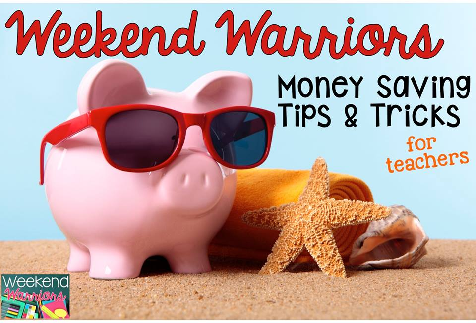 A Sunny Day in First Grade: Weekend Warriors: Money Saving ...