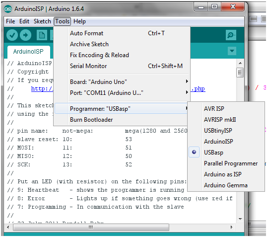 Download Program At90s2313 With Arduino Ide