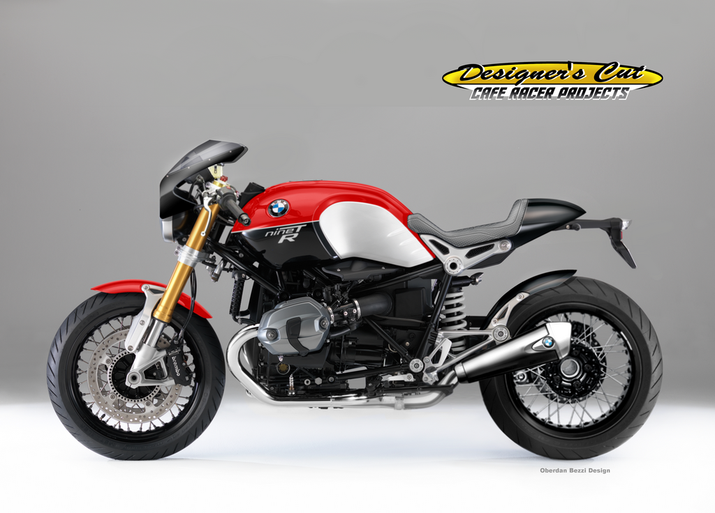 racing caf caf racer concepts bmw r ninet series 2 by oberdan bezzi. Black Bedroom Furniture Sets. Home Design Ideas