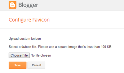 Learn How to Add Favicon to Blogger Blog