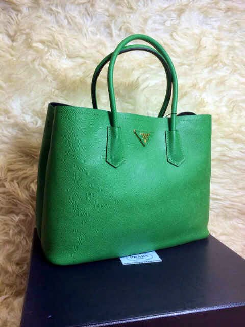 LOVELY BRANDED BAGS : Prada PRADA Double Bag Taiga ori Leather ...