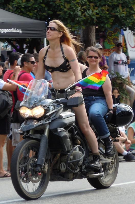 Bike Dykes 33rd Vancouver Pride Parade