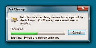 Disk Cleanup Procedure 1