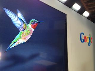 Google Hummingbird - as seen in Searchengineland.com