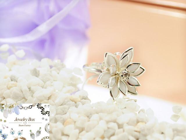 Modeschmuck Ring Blume