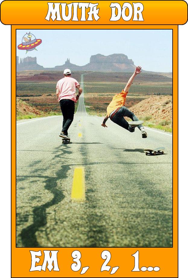 Caindo de Skate