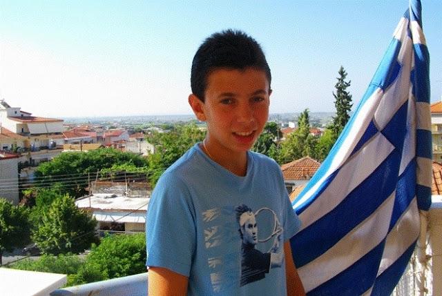 Ευτυχώς που υπάρχει κι αυτή η Ελλάδα!  Έλληνας μαθητής αναδείχθηκε πρώτος σε παγκόσμιο διαγωνισμό έκθεσης