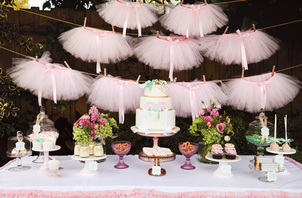 Party Frosting: Ballerina party ideas and inspiration