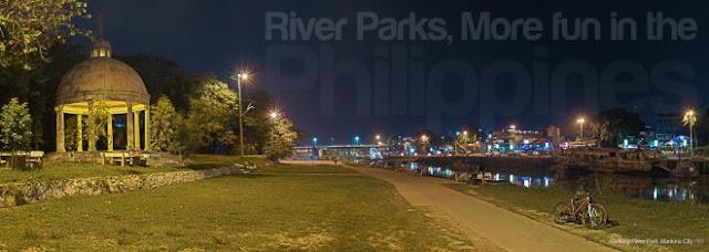Marikina River Banks in Marikina City