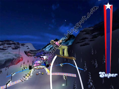 Free Download Games - Snowboard SuperJam