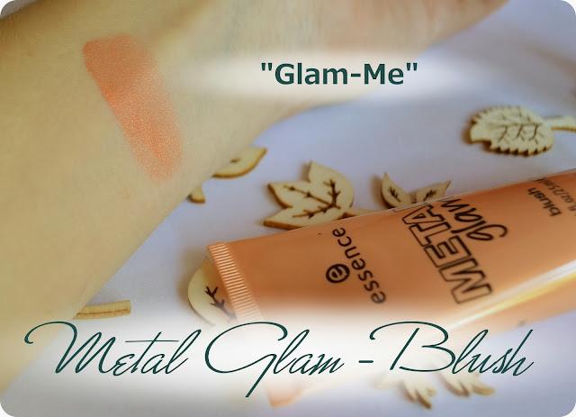 Haul - essence METAL GLAM LE Blush