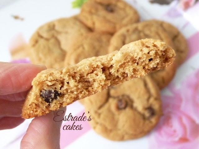 Receta de galletas con chocolate y crema de cacahuete 3