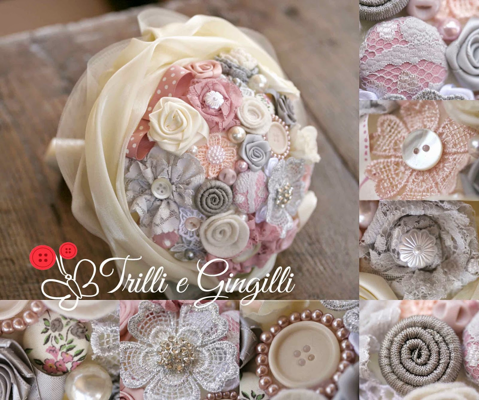Trilli e gingilli le creazioni di sara bouquet - Barattoli decorati shabby ...