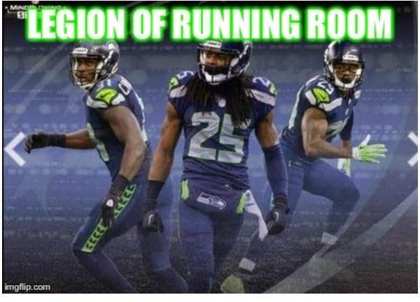 legion of running room - #legionofrunningroom #Sherman #seahawks