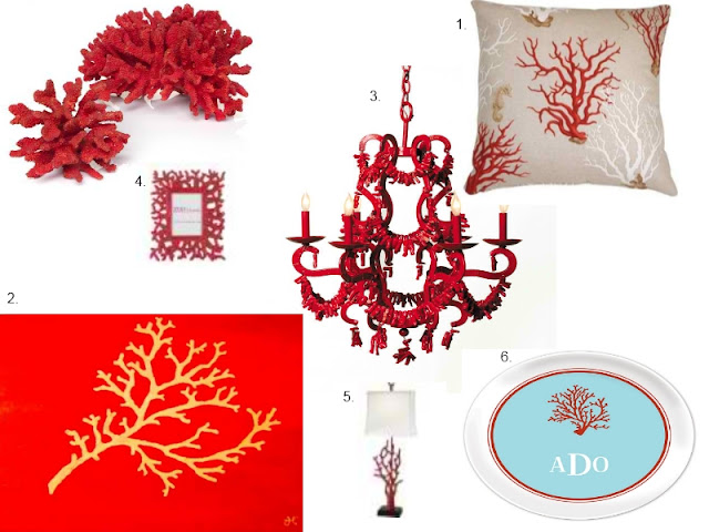 coral decorationfor living room