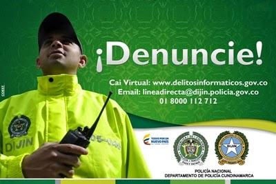 CUNDINAMARCA: Cierre el paso a los delitos informáticos