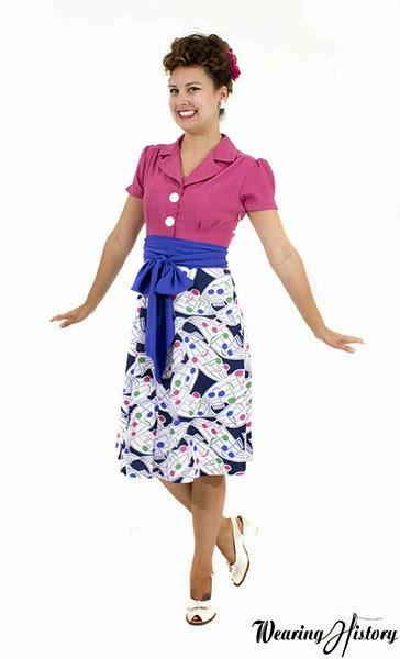Wearing History of California Maisie Dress