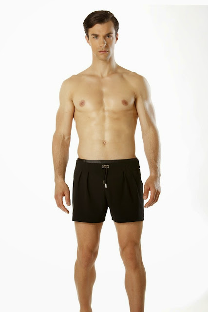 short de bain dimitri roland chaillard fitness model abs
