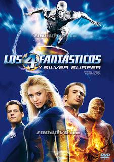 VER Los 4 Fantásticos y Silver Surfer: 2 (2007) ONLINE LATINO