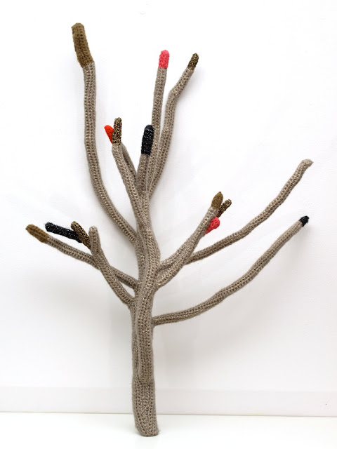 branches crochetees