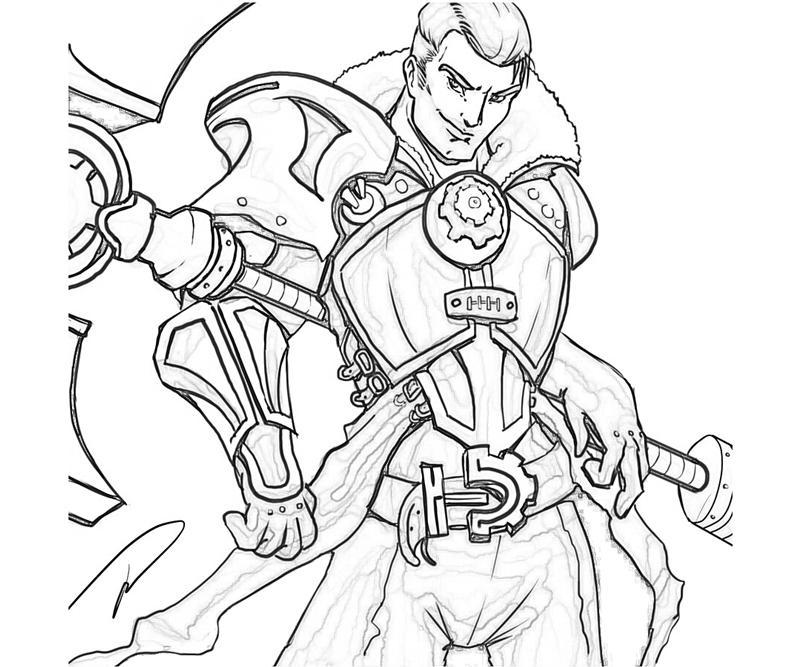 League of Legends Ezreal Armor