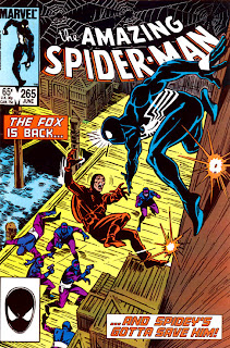 Amazing Spider-Man #265 cover - 1st Appearance of Silver Sable